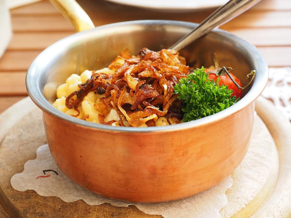 Cheese Noodles, Court, Eat, Delicious, Spätzle, Cheese