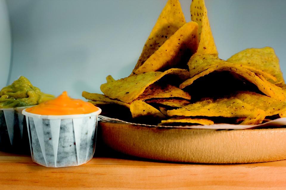 Nachos, Cheese, Food, Fast Food