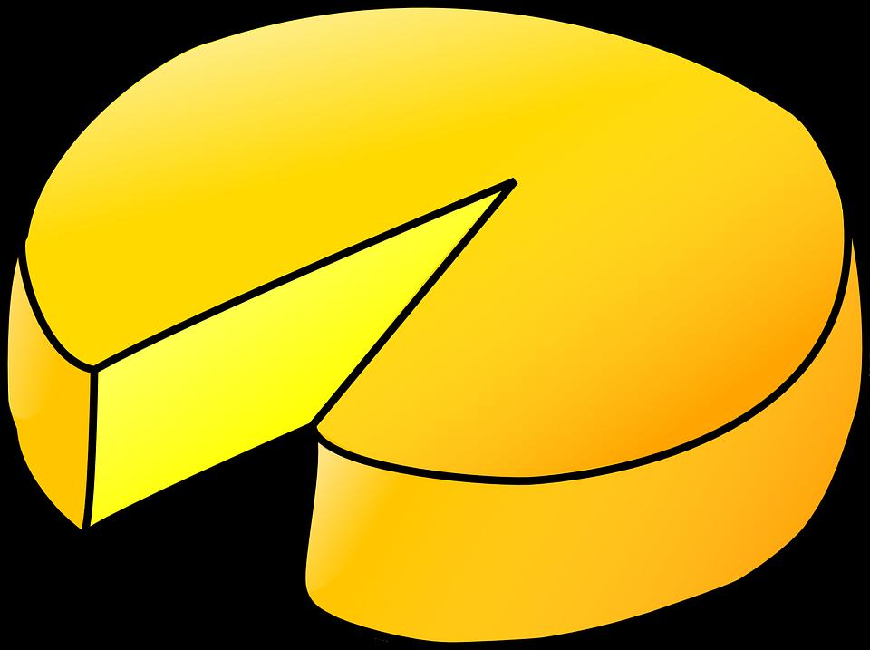 Cheese, Wheel, Dairy, Gourmet, Snack, Healthy, Round