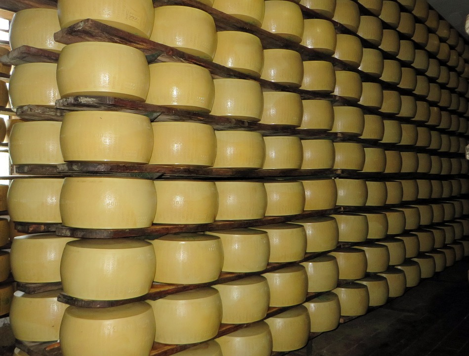 Parma, Parmesan, Grinding Wheels, Cheese, Stock, Power
