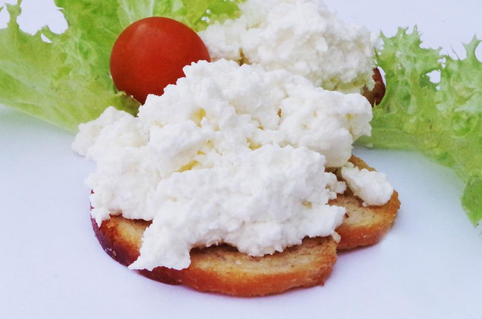Curd, Cheese, Sandwich
