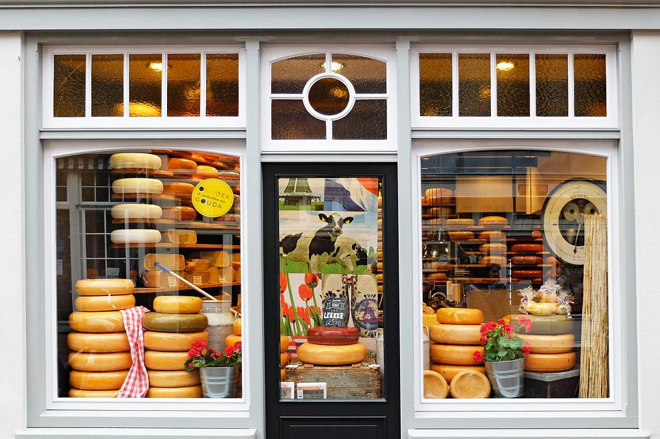 Cheese, Shop, Cheese Factory, Gouda, Netherlands