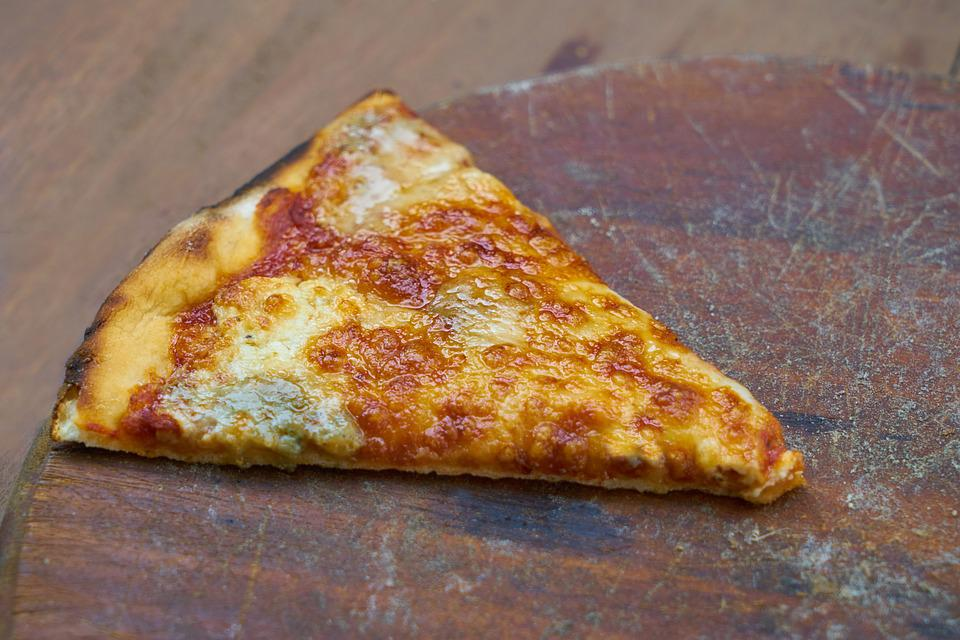 Pizza, Slice, Food, Delicious, Cheese, Restaurant