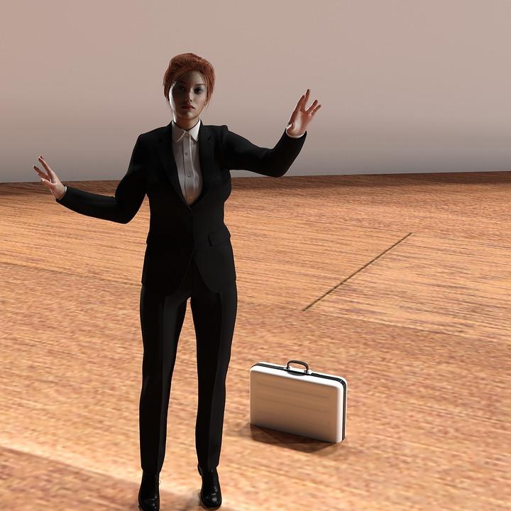 Woman, Business, Chef, Business Woman, Trouser Suit