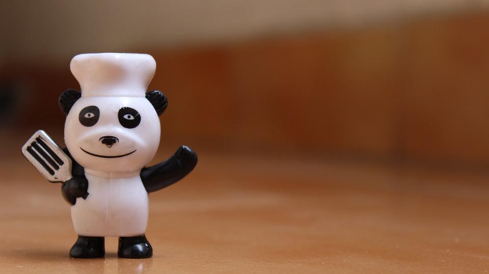 Chef, Panda, Cook, Cartoon, Bear, Food, Cooking, Bake