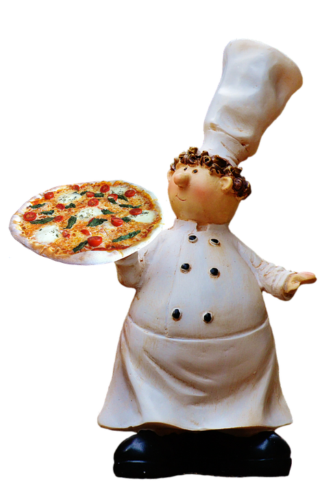 Pizza, Cooking, Funny, Food, Preparation, Chef's Hat