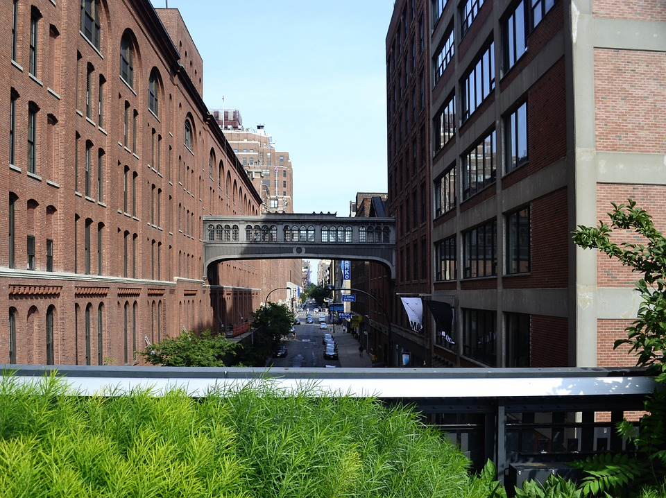 The High Line, New York, Chelsea, Architecture