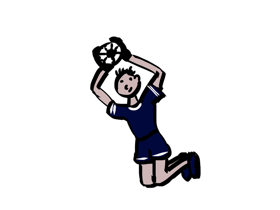 Goalkeeper, Chelsey, Football, Footballers, Cartoon