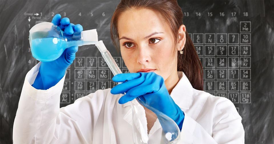 Chemist, Laboratory, Periodic System, Chemistry