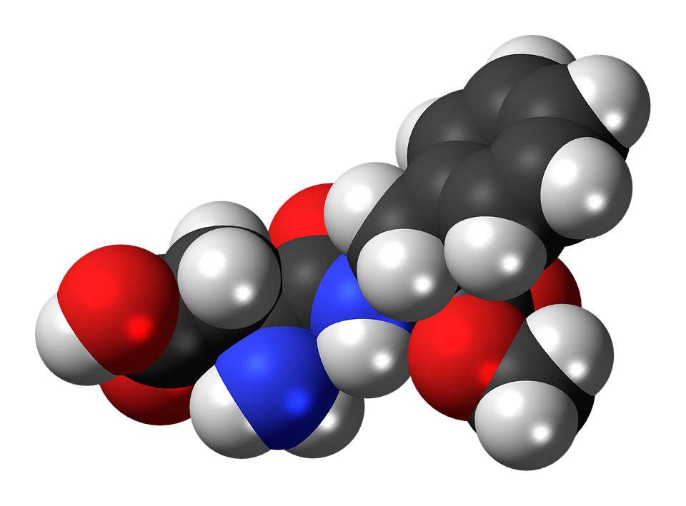 Aspartame, Sweetener, Molecule, Model, Chemistry