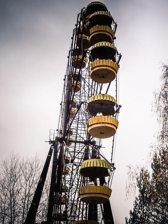 Ukraine, Chernobyl, Nuclear, Abandoned, Slav