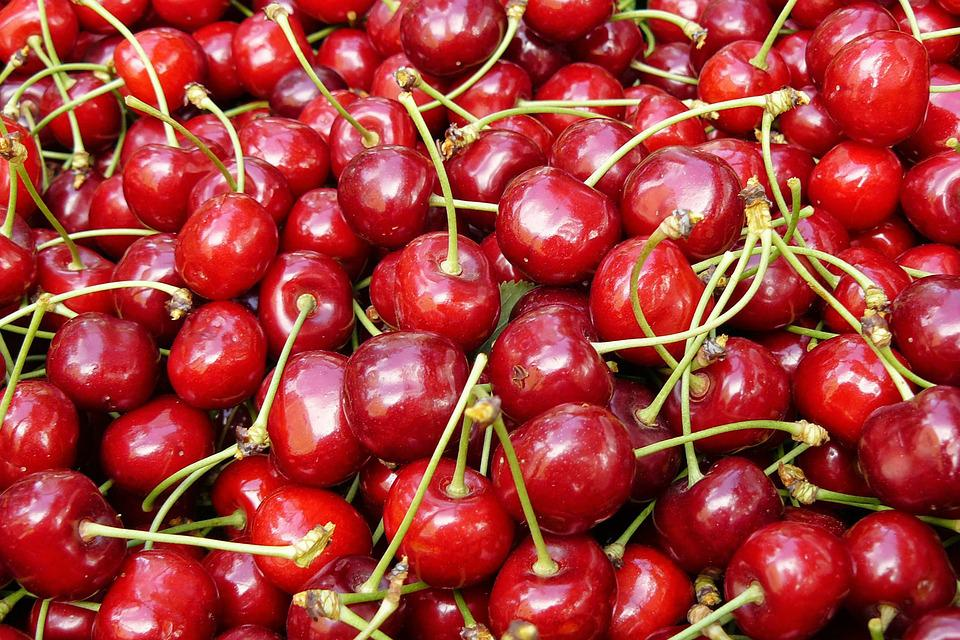 Cherry, Red, Fruit, Sweet, Mature, Red Fruit, Fine