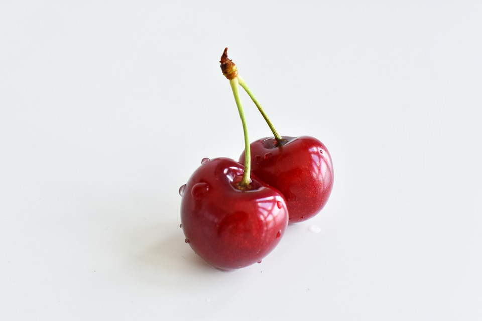 Cherry, Red, White, Berries, Small Fruit, Juicy