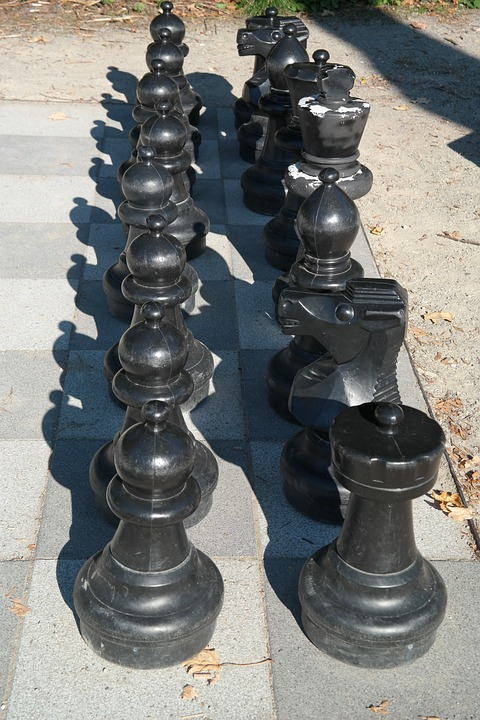 Black, Chess, Chess Board, Chess Pieces, Chess Game