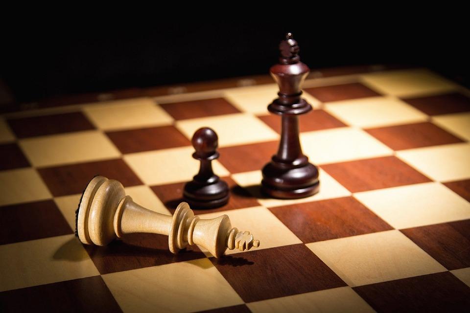 Chess, King, Mat, Pawn, Checkerboard