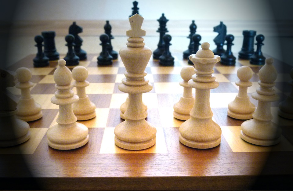 Chess, Play, Chess Game, Chess Board, Lady, King, White