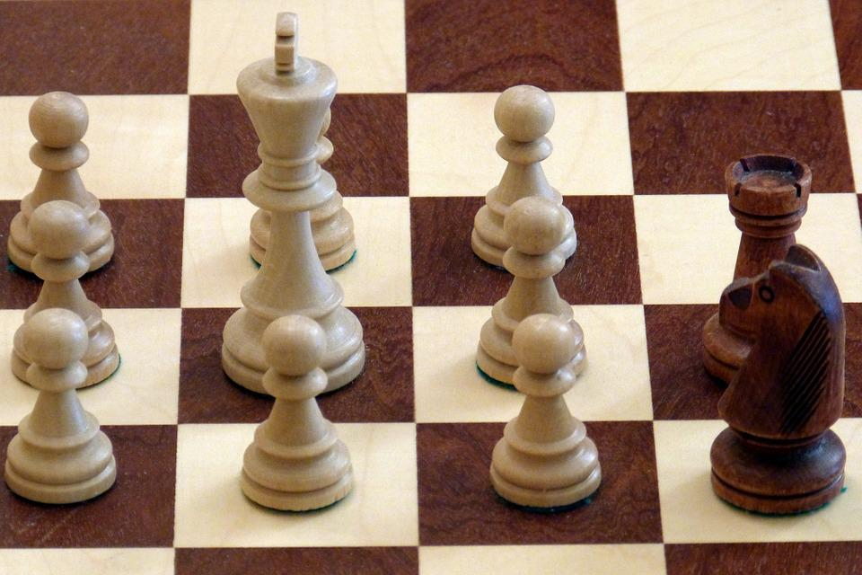 Chess, Chess Pieces, White, Black, King, Farmers