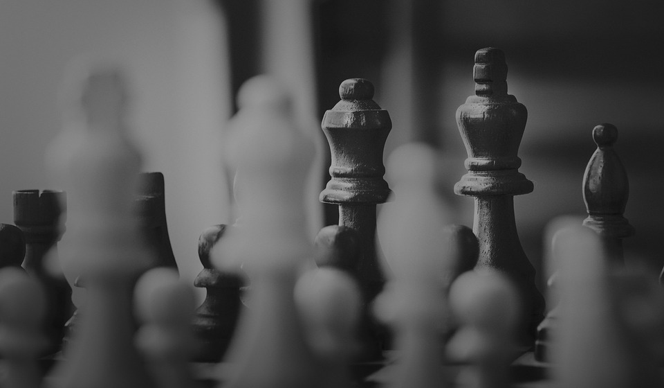 Chess, Monochrome, People, Pawn, Gameplan