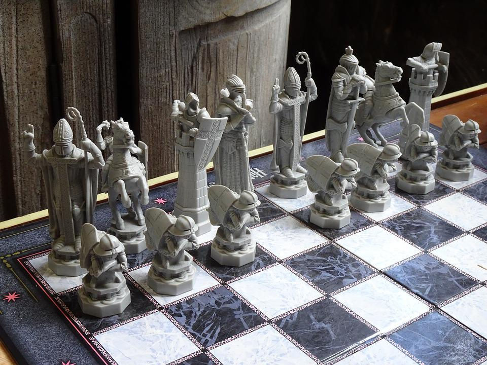 Magic Chess, Chess, Harry Potter, Play, Chess Game