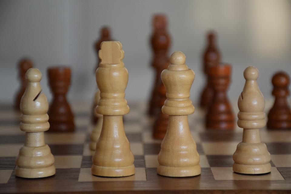 Chess, King, Queen, Running, Puppets, Board, Game