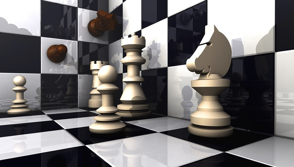 Chess, Figures, 3d Model, Space, Visualization