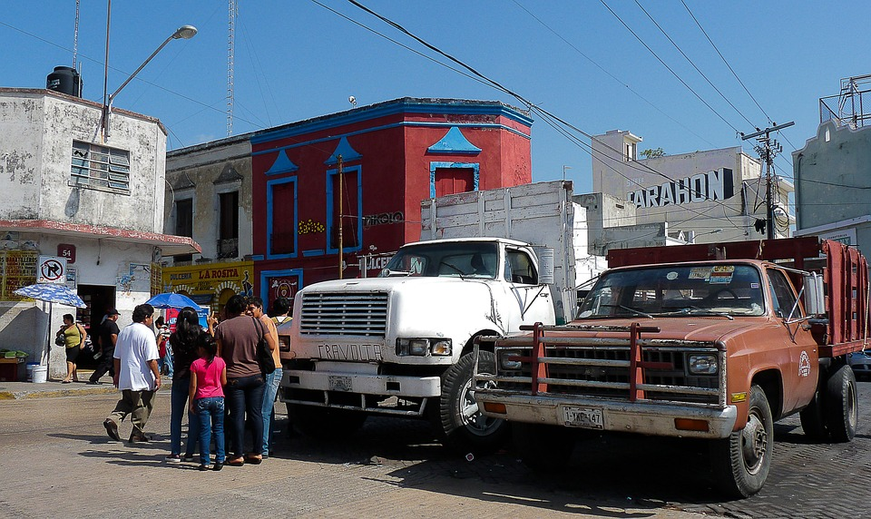 Mexico, Old Trucks, Chevrolet