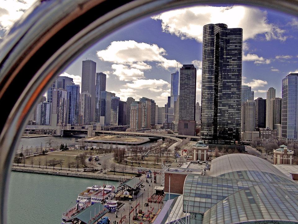 Chicago, City, Big City, Urban Agglomeration