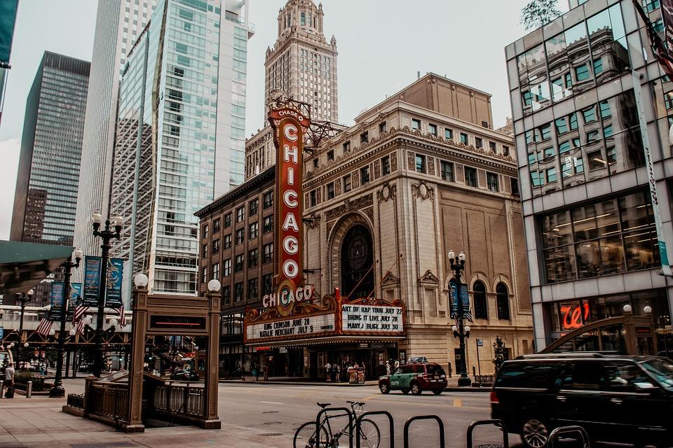 Chicago, Usa, Building, Skyscraper, Architecture