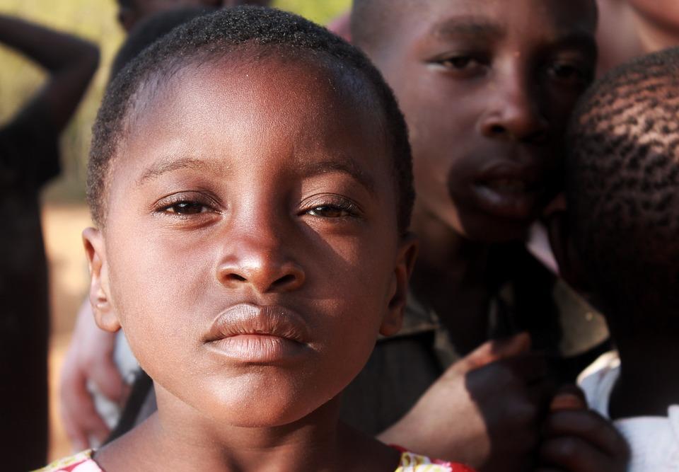 Africa, Child, Poverty, Girl, Portrait, Orphan, Black