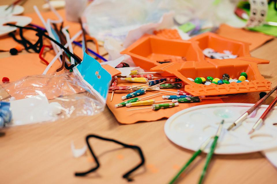 Art, Bright, Brush, Child, Classroom, Colorful, Craft