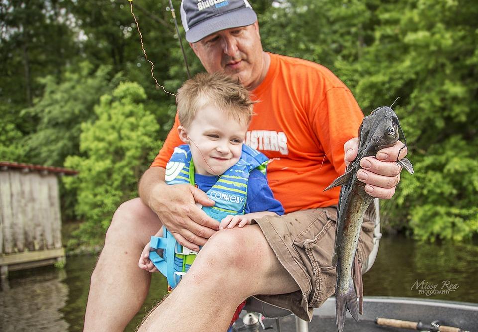 Fishing, Childhood, Leisure, Child, Boy, Male, Man