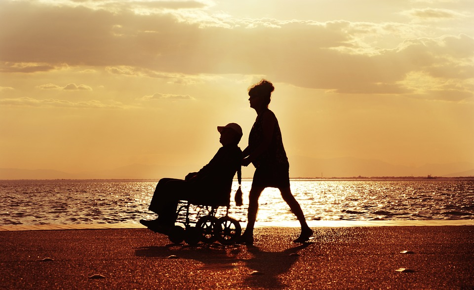 Wheelchair, Spacer, Child Care, Disabled, Para, Sea