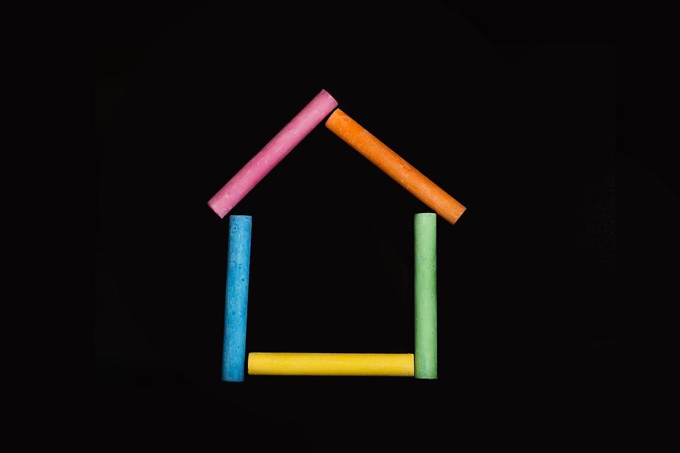 Chalk, Home, Child, School