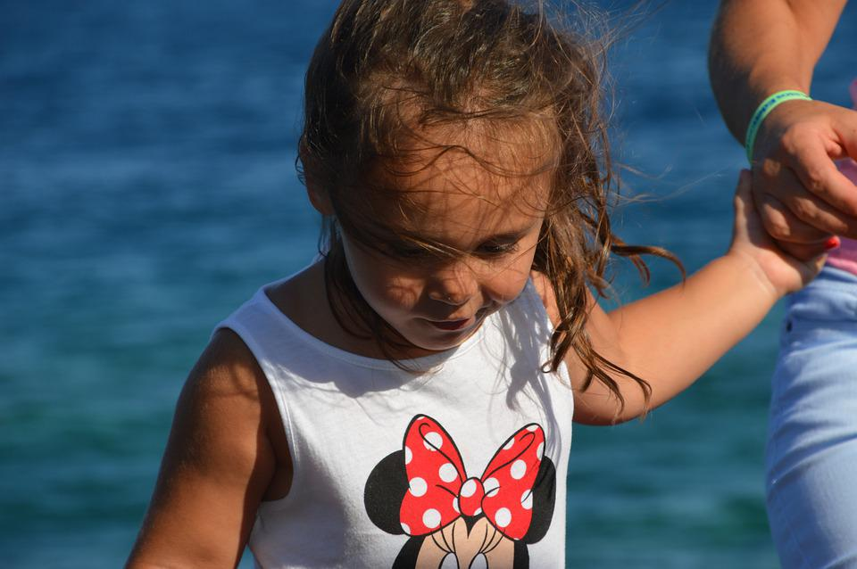 Girl, Child, Marine, Holiday, Childhood, Innocence, Fun