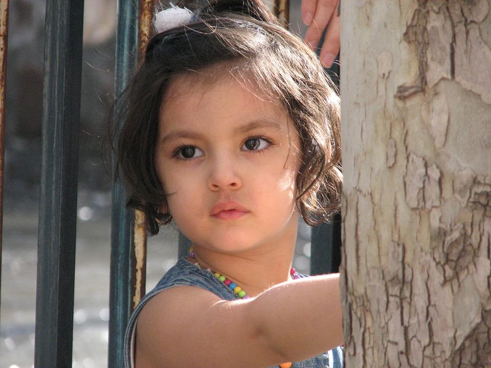 Nice, Little, Girl, Face, Portrait, Child, Innocent
