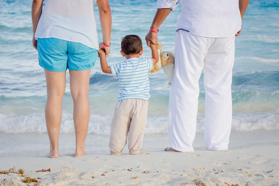 Child, Family, Love, Beach, Holidays, Vacation