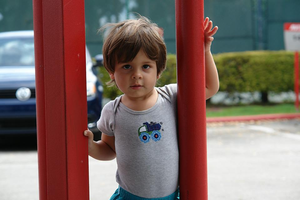 Child, Playground, Outdoors, Small, Fun