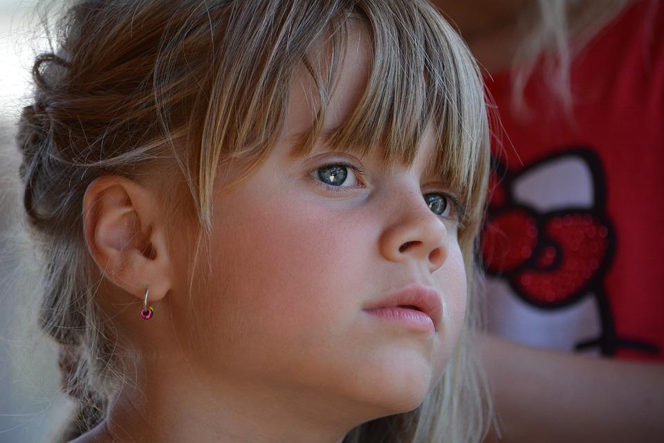 Person, Human, Child, Girl, Face, View, Braid Hair