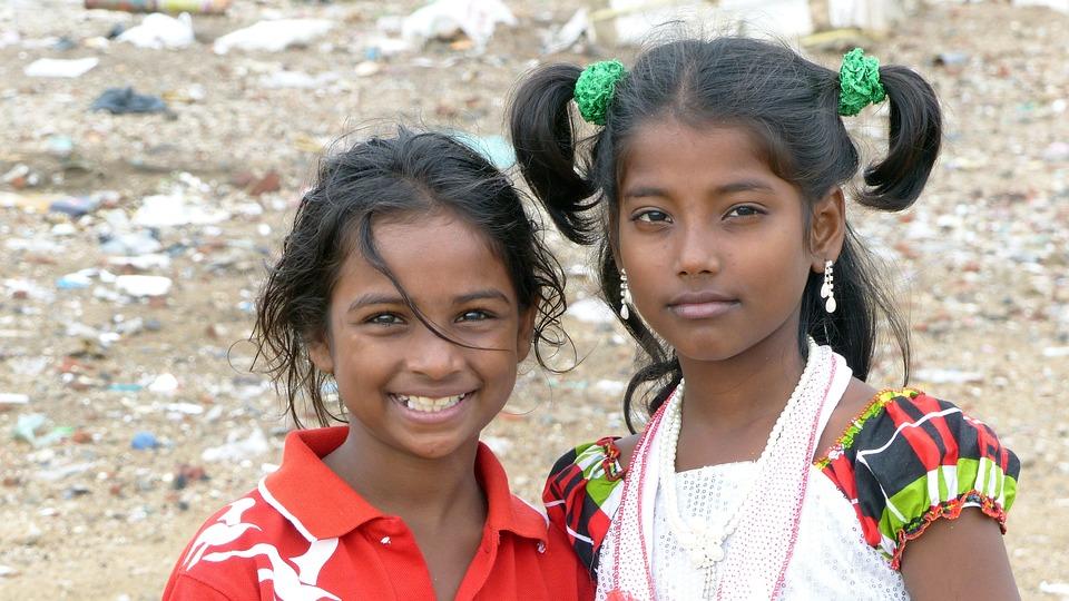 Human, Child, Portrait, Girl, India, Chennai