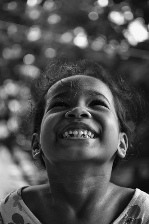 Kid, Vadey, People, Black And White, Child, Family