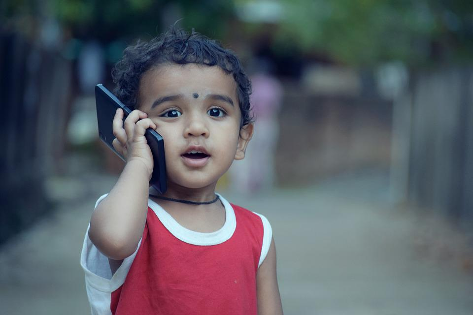 Boy, Kid, Child, Phone, Calling, Mobile, Smartphone