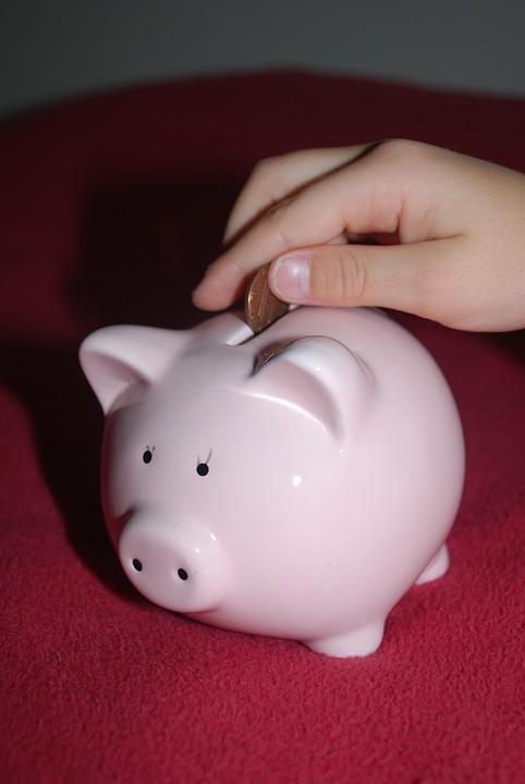 Piggy Bank, Savings, Pig, Money, Child, Pink