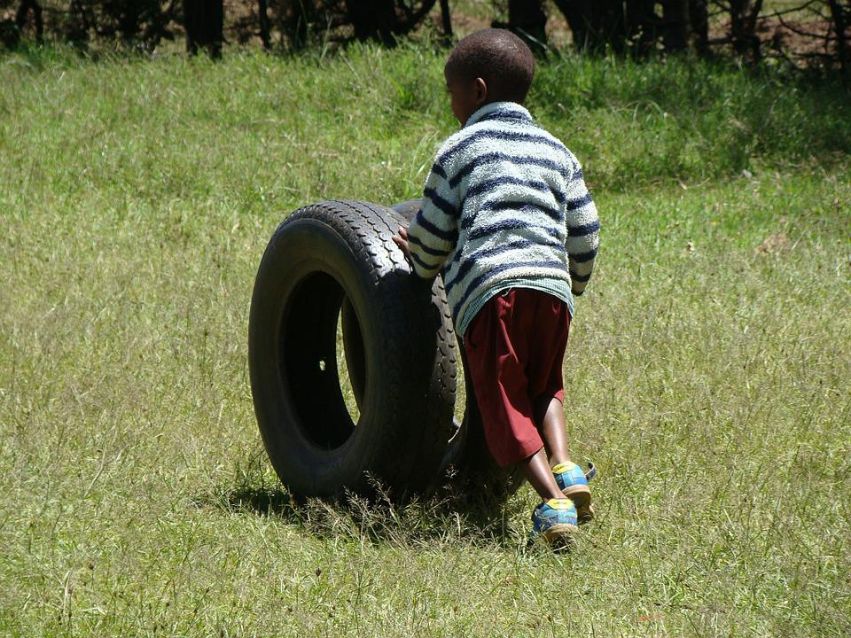 Play, Tires, Child, Fun, Playing, Kid, Outdoor, Wheels
