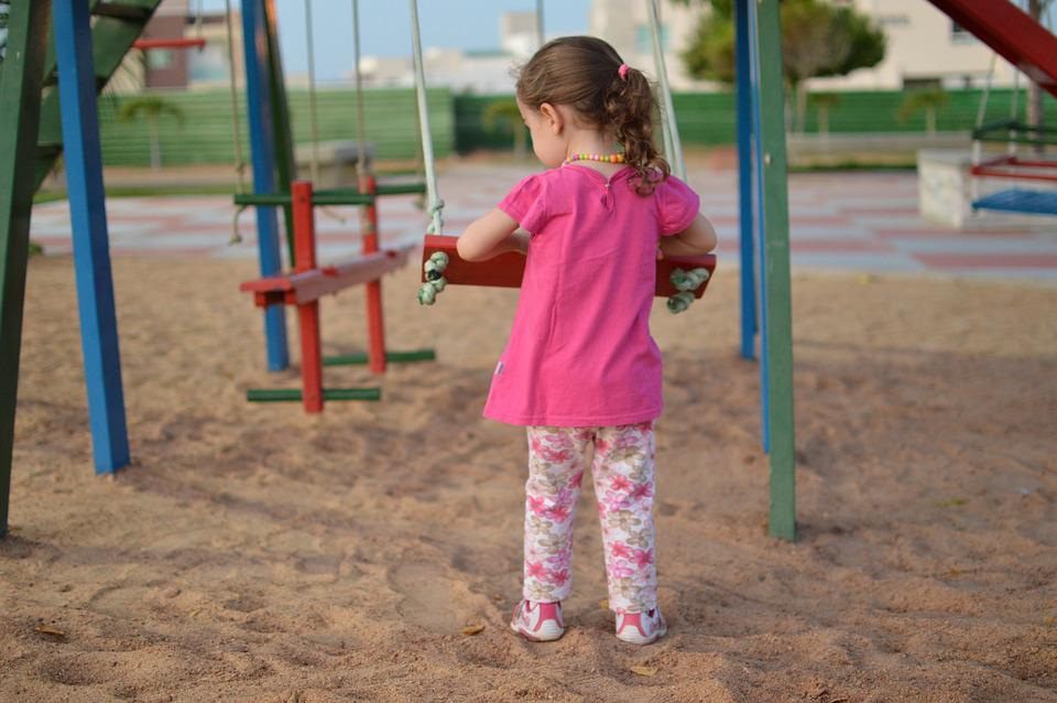 Child, Balance, Playground