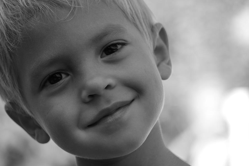 Portrait, Child, Face, Boy, Human, Smile