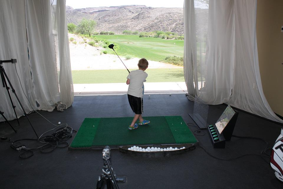 Golf, Junior Golf, Practise, Training, Sport, Child