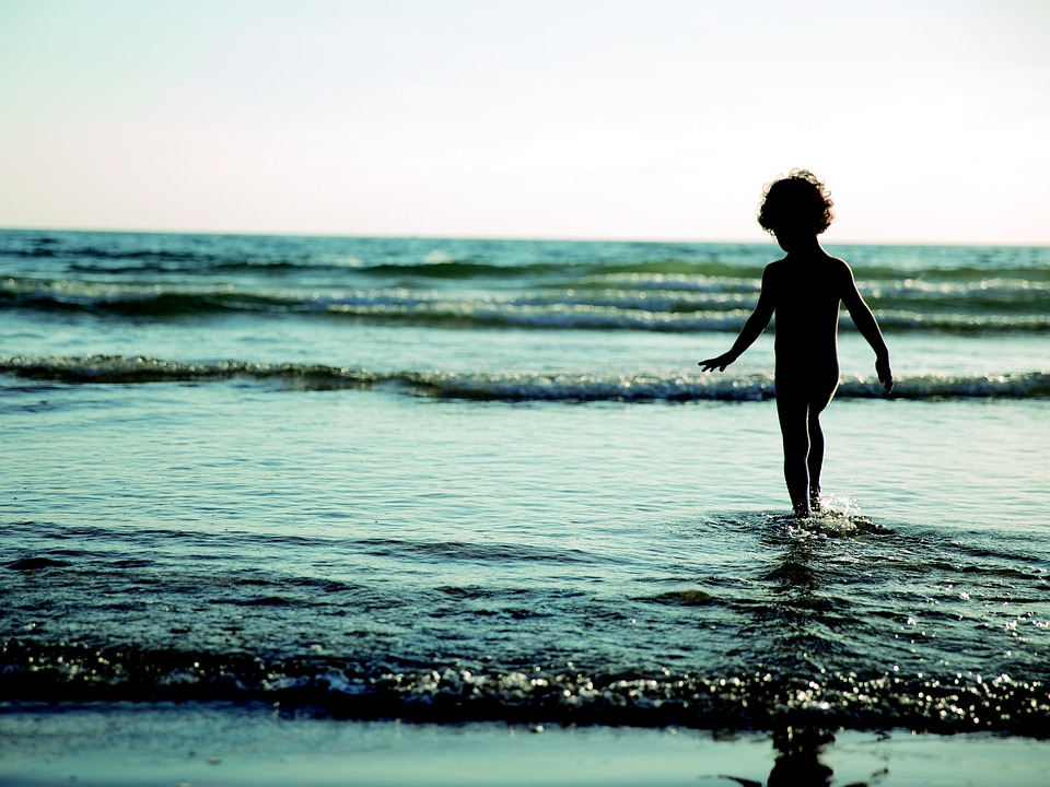 Beach, Child, Sand, Summer, Holiday, Childhood