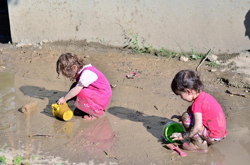 Child, Game, Children, Human, Laugh, Face, Summer