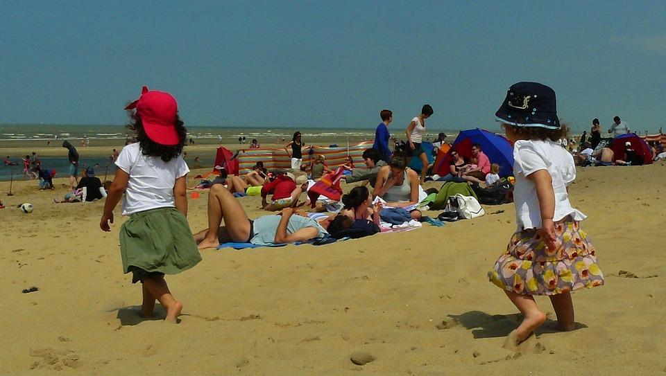Children, Girl, Child, Beach, Sun, Joy, Fun