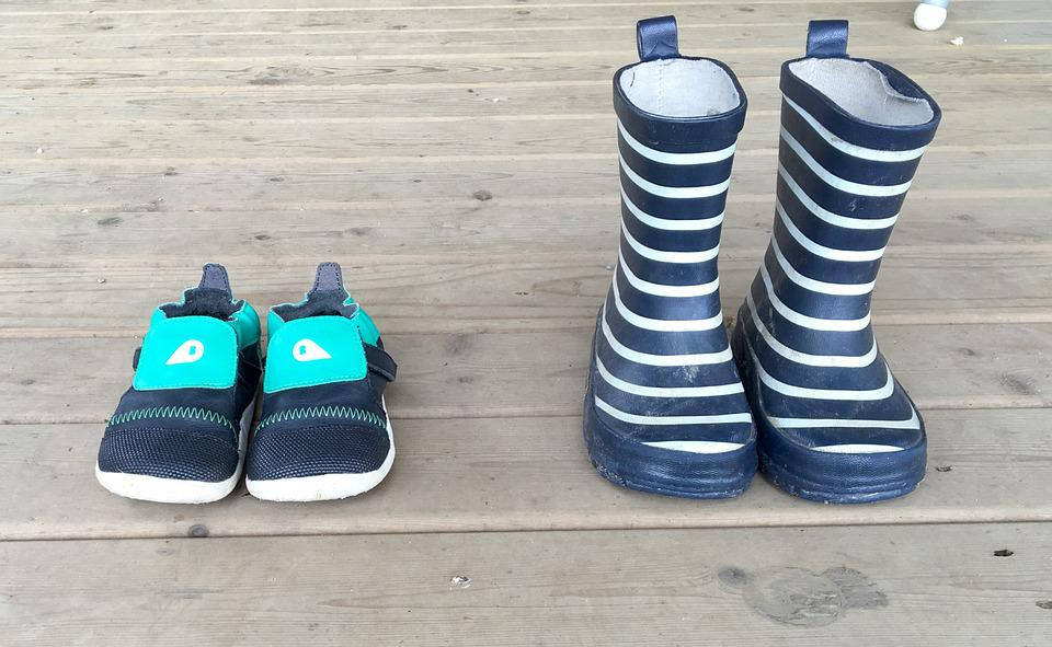 Shoes, Toddler, Child, Feet, Wellies, Boots, Childhood